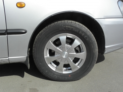 Акцент. Диски Racing Wheels R13. Шины Kumho KH-17