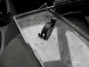 Ремонт защёлки крышки воздушного фильтра