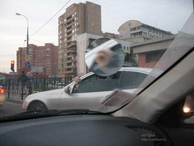 Водитель Мерседеса