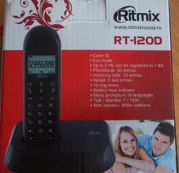 Телефон Ritmix RT-120D