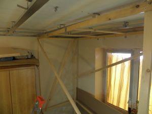 Подсоба для монтажа ГКЛ к потолку