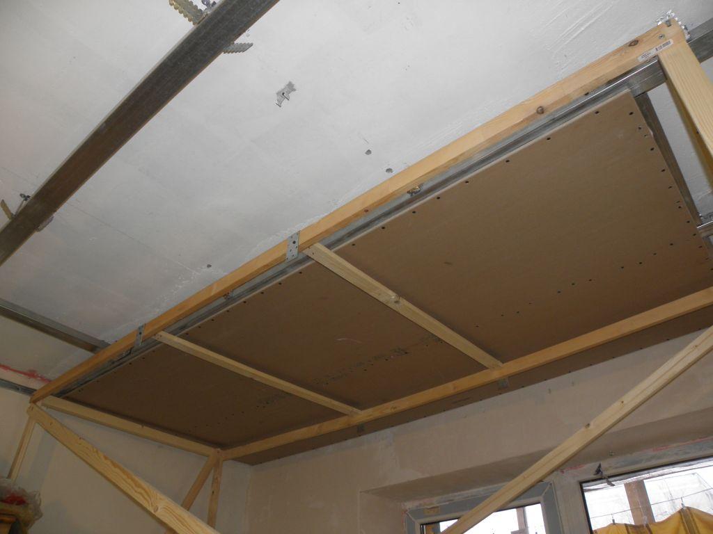 Как подшить потолок гипсокартоном своими руками 316
